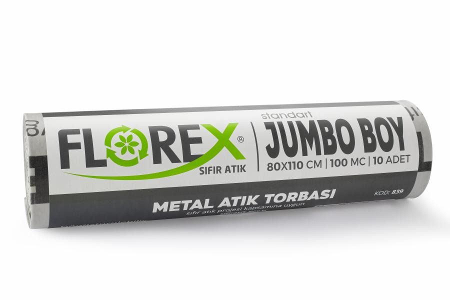 Metal Atık Torbası Standart Jumbo