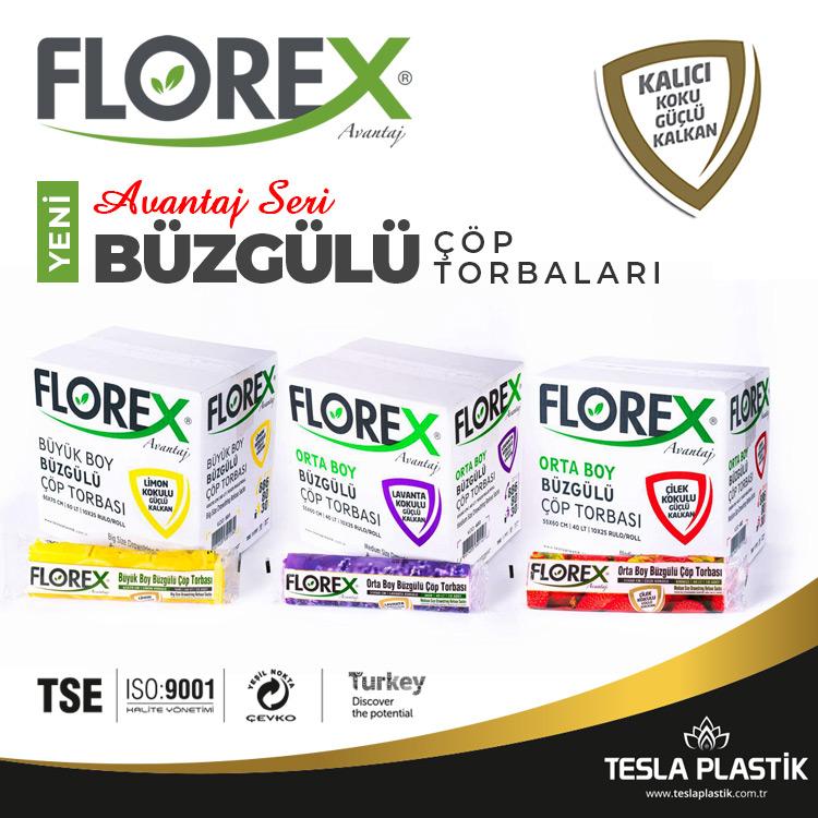 Florex Avantaj Seri Büzgülü Çöp Torbaları Çıktı!